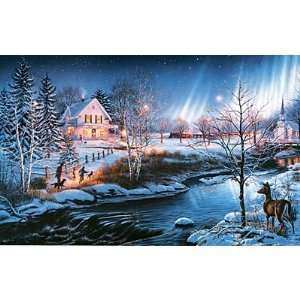 All Is Bright 1000 Piece Glow in the dark Jigsaw Puzzle