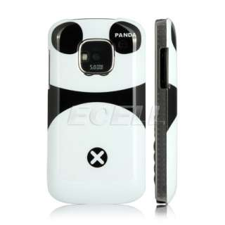 ecell designer range cute panda bear snap on back case for nokia e5