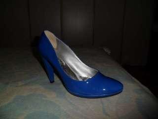 Scarpe decoltè blu tacco alto a Parma    Annunci