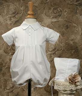 BJ05RS Boys Christening Baptism Outfit Cotton 3M,6M,12M