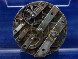Massive 49.5mm 20s Perret & Co. Geneva KW Pocket Watch Movement