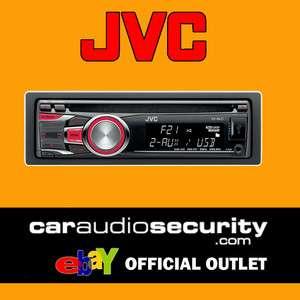 JVC KD R421 CD  USB CAR RADIO STEREO iPOD/iPHONE AUX INPUT BRAND