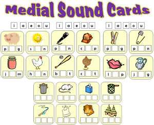 MEDIAL SOUND GAME TEACHING RESOURCES KS1 EYFS