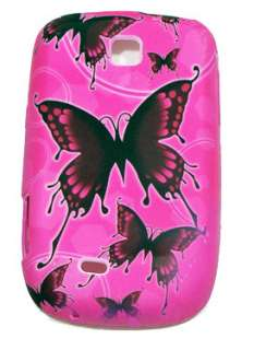 CUSTODIA COVER PER SAMSUNG GALAXY NEXT S5570 ROSA IN TPU CON DECORO