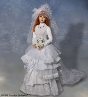 Collectible Porcelain Bride Doll Emily 26