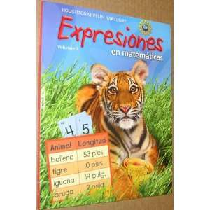 Expression, Grade 2 Student Activity Book: Houghton Mifflin Harcourt