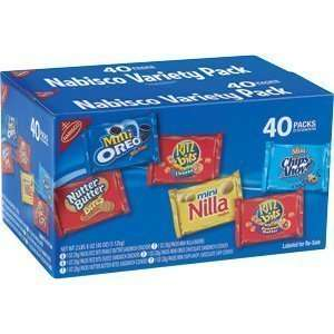 Nabisco Variety Pack 40 packs: Everything Else
