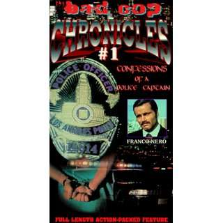 Cop Chronicles #1   Confessions of a Police Captain [VHS] Franco Nero