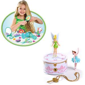 Musical Jewelry Box and Pixie Pals Salon Play Set: Dolls & Dollhouses