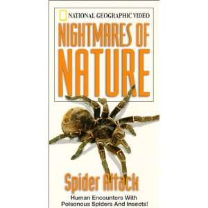 Spider Attack [VHS] National Geographic Vvga