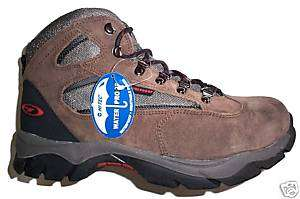 MENS Hi Tec KRUGER WATERPROOF WALKING BOOTS 8 42 BROWN