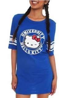 Hello Kitty University Blue Sleep Shirt   176867