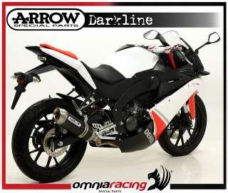 Marmitta Arrow Dark Derbi GPR 125 GPR125 4T 4V 2010/10