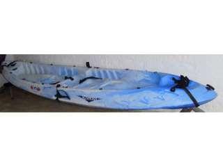 Características del anuncio kayak doble autovaciable Rotomod Ocean