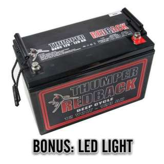 120 A/H 12V AGM DEEP CYCLE BATTERY BATTERIES