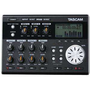Tascam DP 004 Digital Pocketstudio, 4 Track Recorder with 1GB SD Card