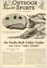 How To Build Vintage Camper Trailer TearDrop Plans CD