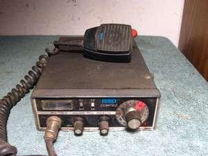 Vintage SBE Cortez CB Radio Transceiver 23 Channel + Mic