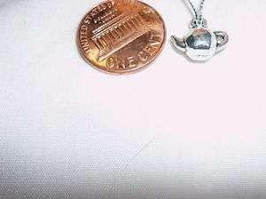 Terri Lee, American Girl,16 or18 inch Dolls Necklace~TEAPOT~Faux Matte