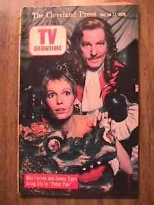 1866 Mia Farrow On Cover Of TV Magazine (1976) M3