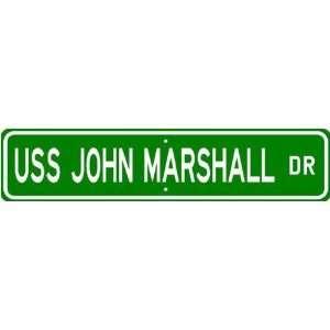 USS JOHN MARSHALL SSN 611 Street Sign   Navy Sports