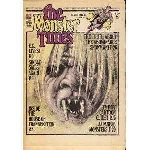 The Monster Times No. 29 December 1973: Joe Kane: Books