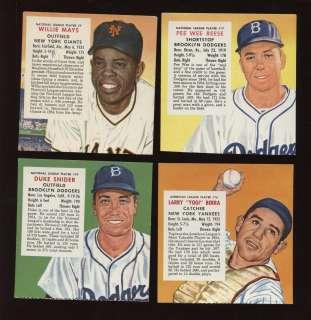 1955 Redman Tobacco Baseball Card Complete Set VG/EXMT