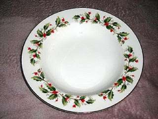 Royal Gallery China~Holly~Several Pieces~#6283~Mint