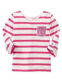 Toddler Girl Long Sleeve Shirt at babyGap Gap   Free Shipping on $50