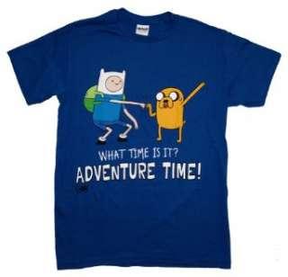 Adventure Time Fist Bump Finn And Jake Cartoon T Shirt Tee Clothing