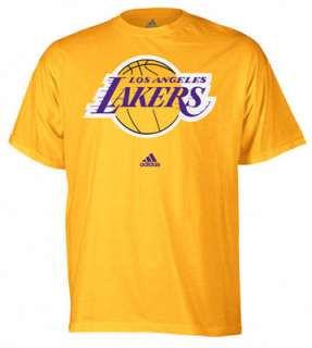 Los Angeles Lakers adidas Gold Primary Logo T Shirt