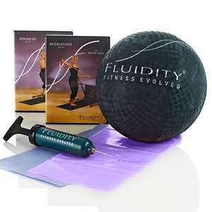 Fluidity® Bar Accessory Kit with 2 DVDs, 2 Bands and Ball