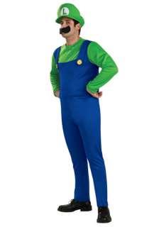 Costumes 70s / 80s Costumes Mario & Luigi Costumes Adult Luigi Costume