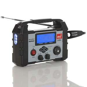 Emergency Alert All Bands Emergency Radio with USB Charging Port at