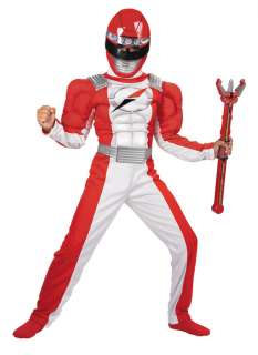 Red Ranger Costume with Muscle Chest   Power Rangers Costumes