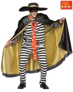 Hamburglar Adult Costume   Adult Costumes