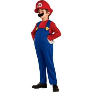 Halloween Costumes Super Mario Bros.   Mario Deluxe Toddler / Child