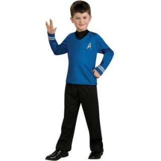 Halloween Costumes Star Trek Movie (Blue) Shirt Child Costume