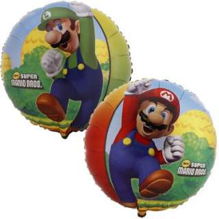 Halloween Costumes Super Mario Bros. 18 Foil Balloon