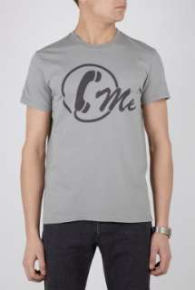 2K by Gingham  Grey Call Me T Shirt by 2K By Gingham