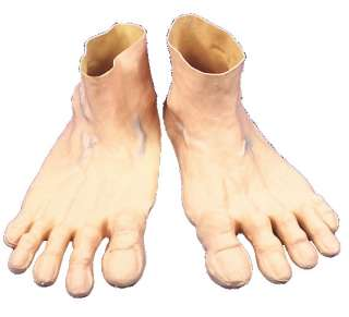 Adult Deluxe Jumbo Rubber Feet   Funny Costume Accessories   15HA10