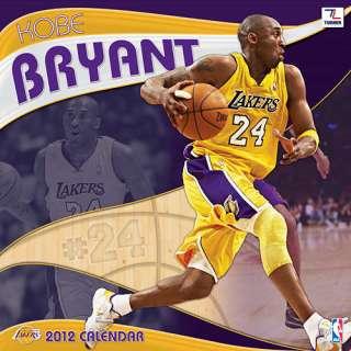 Kobe Bryant 2012 Wall Calendar