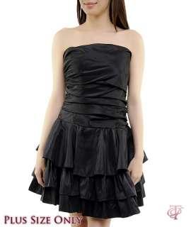 WOMANS PLUS SIZE SEMI FORMAL BLACK DRESS 1XL NEW