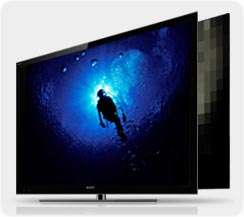 Sony BRAVIA KDL55NX810 55 Inch 1080p 240 Hz 3D Ready LED HDTV, Black