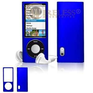 Apple iPod Nano 5th Generation Rubber Feel Dark Blue