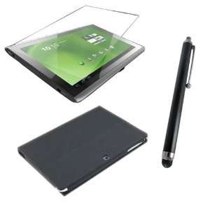 Acer Iconia Tab W500 10.1 Inch Tablet, PU Multi Angle Stand Case Cover