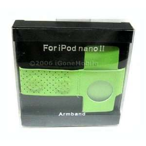 Apple Green Sport Arm Band Apple iPod Nano 1st 2nd Gen  Players