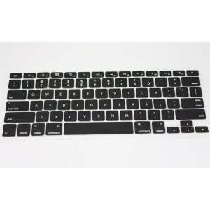 Black Silicone Keyboard Cover Skin Protect for Apple