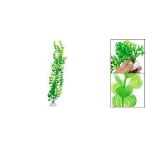 Como Heart Style Leaves Aquarium Tank Plastic Plant