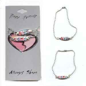 Best Friends Necklace Sets   Ball Chain